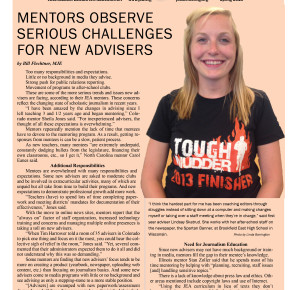 Mentoring Matters Spring 2016 -- Read the latest information about the Mentor Program